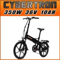 mini bikes - US IN STOCK Addmotor CYBERTRON Folding E bike Mini Bike Alloy Wheel Black W V quot SAMSUNG Lithium Battery Electric Bicycle EB326