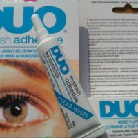 Wholesale 12pcs DUO Professional Waterproof Clear adhesive brand Eyelash Glue g dries invisibly individual packed eye lash glue