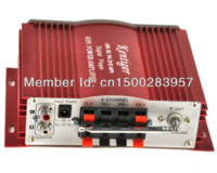 Wholesale car power amplifiers CH Channel HI FI Audio Stereo Amplifier Motocycle boat Home Amplifier red Digital Player