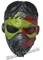 Wholesale Wire Mesh FRP Kamikaze Tactical Mask BB Bulletproof Airsoft Paintball Field CS Game Mask Movie Prop Hallow Party Cosplay Mask