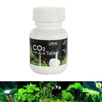 Wholesale 100pcs ISTA Aquarium CO2 Adding Tablet Carbon Dioxide Water Plants Fertilizer Moss Fish Tank Diffuser Home Supplies