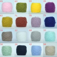 knitting yarn - super soft mohair sweater knitting yarn hand knitted scarves Angola mohair yarn multicolor g