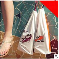 drawstring shoe bag - 2015 New Set Small Objects Shoes Socks Storage Bag Travel Essential Drawstring Pouch Organizer Sorting storage Bags LJJC1067 sets