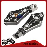 Wholesale Darkside CNC Motorcycle Foot Peg Footrest for Harley Davidson XL L N N XR Billet Aluminum order lt no track