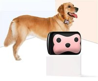 Wholesale New GPS Pet Locator TK103A Smart Positioning Tracking Dog Anti lost Mini Global Locator Real Time GPS Tracking Tool for IOS Android Phone