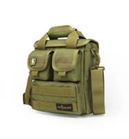 Outdoor Tactical Messenger Bag avvolto Uomini e donne Casual Sport singola spalla Bag Black fango colore