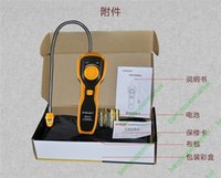 Wholesale HYELEC MS6310 High Accuracy Gas Leak Detector With Sound Light Alarm Gas Analyzer for natural gas methane ethane propane