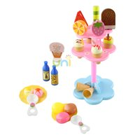 baby food cheap - 2015 New Cheap Baby Toys Mother Garden Strawberry Ice Cream Set Play Food Baby Pretend Play Toys Food Set Kids Toys Xmas Gift