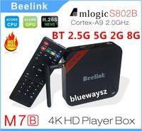 Quad Core Included 1080P (Full-HD) AMLS802B Beelink M7B android 2G 8G WiFi smart TV Box Amlogic Quad Core S802B Android TV BOX 4K XBMC Smart Android 4.4 TV BOX Beelink M7B