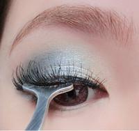 Wholesale Best price Beauty Tools Multifunctional False Eyelashes Stainless Auxiliary Clip Tweezers eye care