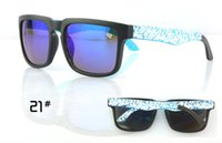 Wholesale Popular Glasses KEN BLOCK HELM Cycling Mens Sports Sunglasses Outdoor Sun glasses SPY OPTIC HELM Ken Block Brand Designer Sunglass