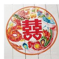 Wholesale The new creative wedding hi word hi word static stickers window stickers wedding marriage kiss fart child cm
