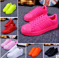 Wholesale dorp shipping gift Men and women superstar Pharrell Williams Supercolor Couples sneaker shoe