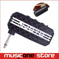 Wholesale New JOYO JA Tube Drive Guitar Sound Effect Mini Guitar Amplifier Pocket Amp w Headphone Output and MP3 input MU0059