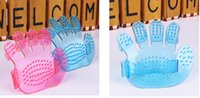 best massage products - Pet Dog massage brush Best New Pet comb Dog Supplies Grooming Bath Glove Brushes Massage clean Brushes pet products