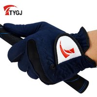Wholesale Brand Men s Golf Gloves Male Summer Sweat Absorbent Microfiber Cloth Soft Breathable Abrasion New Left Hand In Stock A02