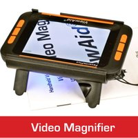 Wholesale New inch LCD Portable Video Magnifer for low vision people Low vision aid Digital Magnifier electronic reading aid