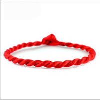red heart charm - HOT Benmingnian red rope bracelets sell like hot cakes Woven children s bracelet Ma Niangong rope hand rope pic DHL EMS