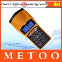 Wholesale 1Pcs CP3007 Infrared Laser Ultrasonic Distance Meter Measuring Device Supersonic Rangefinder Measuring Tool