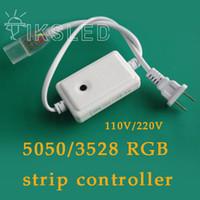 Wholesale v rgb controller led strip strip dimmer LED strip light accessories SMD LED Strip controllers V power plug