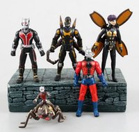Wholesale The film version of the marvel universe Doll Ant Man Ant Ant people mount five hands do furnishing articles toys