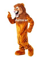 Wholesale Lion Mascot Costume Adult Mascot Men s for Party and Valentine s Day Thanksgiving Day Christmas Halloween and New Years