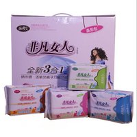 anion sanitary napkins - High Quality Long packages Sets Feminine Health Magnetic Anion Far Infrared Sanitary Napkin Night USE