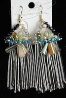 Wholesale colorful crystal tasslesl women s earings cm gghhjjghj gghghg