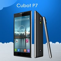 Cubot originale P7 Cellulare Smartphone Android 5.0 '' IPS MTK6582 Quad Core 1.3GHz Android 4.2 russo Spainish Telefono