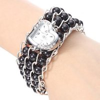 assorted pearls - shopping watch ladies bracelet watch Women s Pearl Style Plastic Analog Quartz Bracelet Watch Assorted