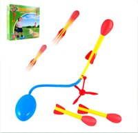 best flying games - Newest Ultra Stomp Rocket outdoor fun game toy flying security interactive toys kids baby best Space enthusiasts birthday gift