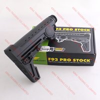 Wholesale ERGO F93 Pro Stock Eight Position Collapsible PTS Stock For AR15 M16 Type Training With GBB Buffer Tube KT1038