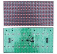 Wholesale LED Display module PH10 red Semi outdoor SMD