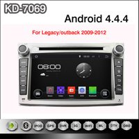 dual cd player - Pure Android Cortex A9 Dual core quot Capacitive Multi touch Screen Car DVD Player For Subaru Legacy Outback With WiFi G GPS