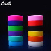 Wholesale Big Size Jelly Colors Sporty Rubber Wristband Basketball Silicone Bracelets Band Power Men Bracelet OEM Customized Logo Cheap