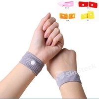 Wholesale Free DHL Anti nausea Waist Support Sports Safety Wristbands for Carsickness Seasick Anti Motion Sickness Motion Sick Wrist Bands Factory