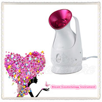 antiseptic spray - New KingDom Pink Face Steamer Nano steam cosmetology instrument Ion Spray Machine Dredge pores Antiseptic For the Salon or SPA Home