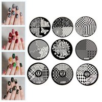 Wholesale Flower Pattern DIY Steel Plate Nail Art Image Print Stamp Stamping Manicure Template Styles New Fashion style