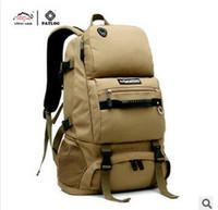 Wholesale Large capacity Men Women Outdoor MilitaryTactical Backpack water resisted Camping Hiking Bag Trekking Sport Rucksacks travel bags L