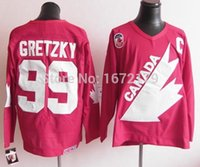 Cheap Factory Outlet, CHEAP 1991 OLYMPIC TEAM CANADA #99 WAYNE GRETZKY CAPTAIN RED THROWBACK CCM STITCHED VINTAGE HOCKEY JERSEYS SHIRTS ON SALE
