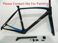 Wholesale Factory price carbon road frame road bicycle frameset full road bike carbon frameset racing bike outdoor sports bike bicycle