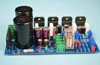 amplifier integrated circuit - LM3886 stereo amplifier CH W HIFI amplifier board include speaker protection circuit Lok Lam circuit design