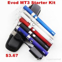 steel evod - E Cigarette evod mt3 electronic cigarette starter kit with mah evod battery and mt3 atomizer clearomizer e cig cigarettes