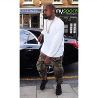 camo clothing - hip hop factory connection mens clothing military tactical cargo pants casual fashion kanye west camouflage camo joggers yeezy