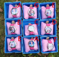Fashion anna fashion designer - New Designer Children Boxed Watch Kids Birthday and Christmas Gift Elsa and Anna Snow Olaf Styles