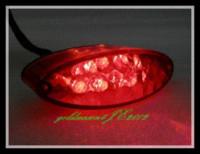 atv custom - Motorcycle ATV Red LED Tail Running Brake Light FOR Custom Super Moto ATV Dirt Bike Dual Sport MX Chopper