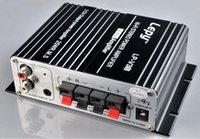 Wholesale 10pcs Lepy Computer Amplifier LP V3 Hi Fi Enthusiast of TA8254 Chip AMP Car Amplifier as Lepai LP V3 KM2047
