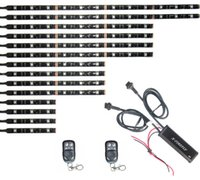 accent lights - Xfirefly All Color Flexible Led Strips Two Remotes For ATV Motorcycle Accent lights Color Kit Lengthen II