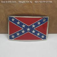 Wholesale REBEL FLAGS Belt Buckle Rebel Flag confederate flag belt buckle southern battle flag belt buckle