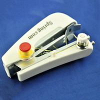 Wholesale Hot Sale Portable Hand Held Sewing Machine Mini Clothes Fabric Portable Pocket TY1067
